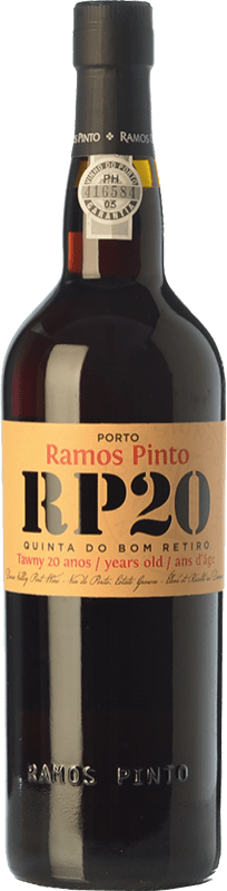 61,95 € Envoi gratuit   Vin fortifié Ramos Pinto 20 Anos Quinta do Bom Retiro I.G. Porto Porto Portugal Touriga Franca, Touriga Nacional, Tinta Roriz, Tinta Cão, Tinta Barroca Bouteille 75 cl
