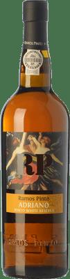 18,95 € Free Shipping | Fortified wine Ramos Pinto Adriano White Reserva I.G. Porto Porto Portugal Malvasía, Códega, Rabigato, Viosinho Bottle 75 cl