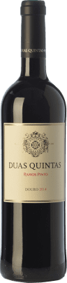 14,95 € Envío gratis | Vino tinto Ramos Pinto Duas Quintas Crianza I.G. Douro Douro Portugal Touriga Franca, Touriga Nacional, Tinta Roriz Botella 75 cl