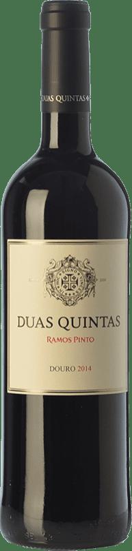 14,95 € Free Shipping | Red wine Ramos Pinto Duas Quintas Crianza I.G. Douro Douro Portugal Touriga Franca, Touriga Nacional, Tinta Roriz Bottle 75 cl