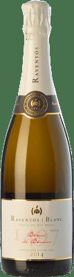 15,95 € Free Shipping | White sparkling Raventós i Blanc Blanc de Blancs Reserva Spain Macabeo, Xarel·lo, Parellada Bottle 75 cl
