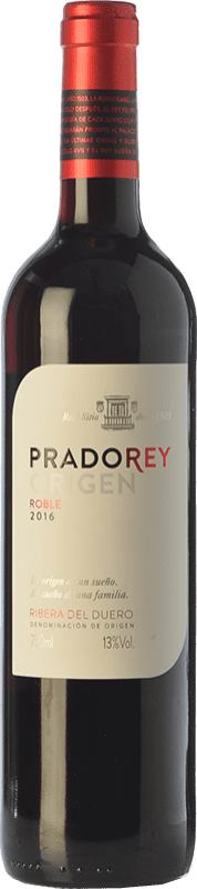 7,95 € Free Shipping | Red wine Ventosilla PradoRey Roble D.O. Ribera del Duero Castilla y León Spain Tempranillo, Merlot, Cabernet Sauvignon Bottle 75 cl