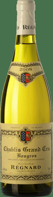 55,95 € Free Shipping | White wine Régnard Bougros 2008 A.O.C. Chablis Grand Cru Burgundy France Chardonnay Bottle 75 cl