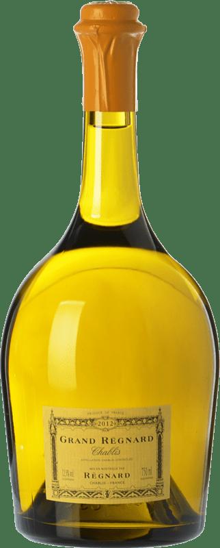 95,95 € Free Shipping | White wine Régnard Grand Régnard A.O.C. Chablis Burgundy France Chardonnay Magnum Bottle 1,5 L