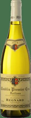 55,95 € Free Shipping | White wine Régnard Vaillons A.O.C. Chablis Premier Cru Burgundy France Chardonnay Bottle 75 cl