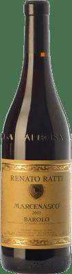53,95 € Free Shipping | Red wine Renato Ratti Marcenasco D.O.C.G. Barolo Piemonte Italy Nebbiolo Bottle 75 cl