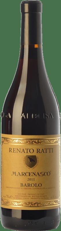 47,95 € Free Shipping   Red wine Renato Ratti Marcenasco D.O.C.G. Barolo Piemonte Italy Nebbiolo Bottle 75 cl