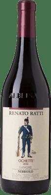 18,95 € Free Shipping | Red wine Renato Ratti Ochetti D.O.C. Nebbiolo d'Alba Piemonte Italy Nebbiolo Bottle 75 cl