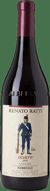 16,95 € Free Shipping   Red wine Renato Ratti Ochetti D.O.C. Nebbiolo d'Alba Piemonte Italy Nebbiolo Bottle 75 cl