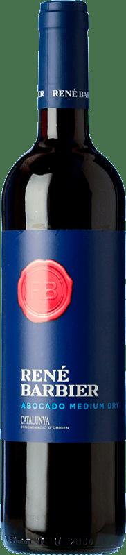 4,95 € Envío gratis | Vino tinto René Barbier Abocado Semiseco Joven D.O. Penedès Cataluña España Tempranillo, Garnacha, Monastrell Botella 75 cl