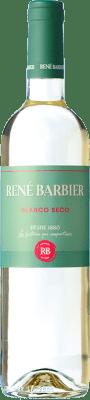 4,95 € Envío gratis | Vino blanco René Barbier Kraliner Seco Joven D.O. Penedès Cataluña España Macabeo, Xarel·lo, Parellada Botella 75 cl