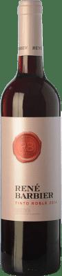 5,95 € Free Shipping | Red wine René Barbier Roble D.O. Penedès Catalonia Spain Tempranillo, Grenache, Torrontés Bottle 75 cl
