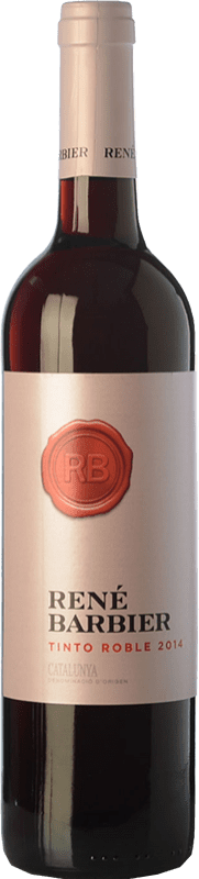 4,95 € Free Shipping | Red wine René Barbier Roble D.O. Penedès Catalonia Spain Tempranillo, Grenache, Torrontés Bottle 75 cl