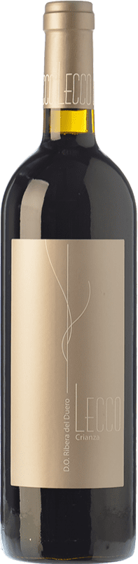 11,95 € Free Shipping | Red wine Resalte Lecco Crianza D.O. Ribera del Duero Castilla y León Spain Tempranillo Bottle 75 cl