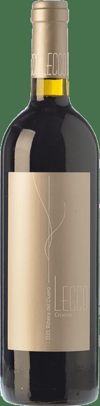 11,95 € Envío gratis | Vino tinto Resalte Lecco Crianza D.O. Ribera del Duero Castilla y León España Tempranillo Botella 75 cl