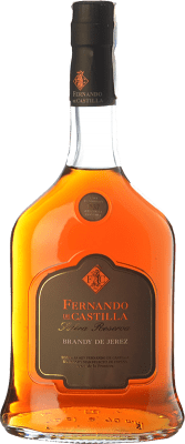 25,95 € Free Shipping | Brandy Fernando de Castilla Solera Reserva D.O. Jerez-Xérès-Sherry Andalusia Spain Bottle 70 cl