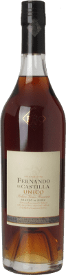 214,95 € Free Shipping | Brandy Fernando de Castilla Único D.O. Jerez-Xérès-Sherry Andalusia Spain Bottle 70 cl