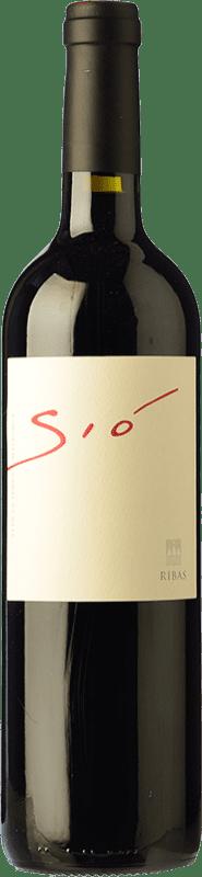 22,95 € Free Shipping | Red wine Ribas Sió Crianza I.G.P. Vi de la Terra de Mallorca Balearic Islands Spain Merlot, Syrah, Cabernet Sauvignon, Mantonegro Bottle 75 cl