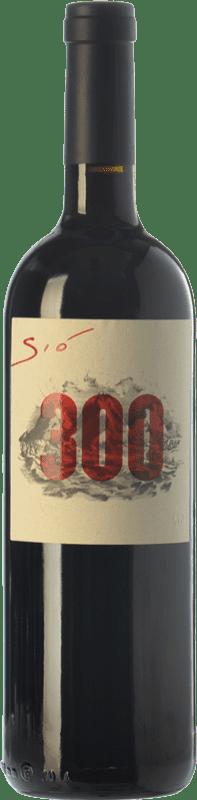 31,95 € Free Shipping | Red wine Ribas Sió 300 Crianza I.G.P. Vi de la Terra de Mallorca Balearic Islands Spain Merlot, Syrah, Cabernet Sauvignon, Mantonegro, Gargollassa Bottle 75 cl