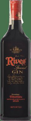 29,95 € Free Shipping | Gin Rives Gin Premium Tridestilada Special Spain Bottle 70 cl