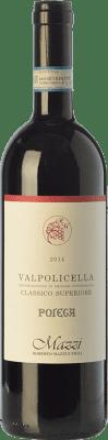 26,95 € Free Shipping | Red wine Mazzi Classico Superiore Pojega D.O.C. Valpolicella Veneto Italy Corvina, Rondinella, Corvinone, Molinara Bottle 75 cl
