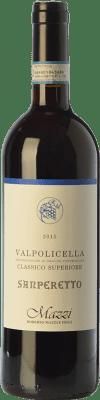 19,95 € Free Shipping | Red wine Mazzi Classico Superiore Sanperetto D.O.C. Valpolicella Veneto Italy Corvina, Rondinella, Corvinone, Molinara Bottle 75 cl