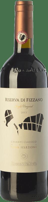 73,95 € Free Shipping | Red wine Rocca delle Macìe Riserva di Fizzano Reserva D.O.C.G. Chianti Classico Tuscany Italy Merlot, Sangiovese Magnum Bottle 1,5 L