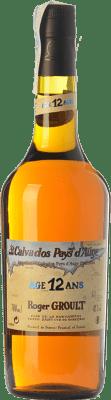 67,95 € Envío gratis | Calvados Roger Groult Vieux 12 I.G.P. Calvados Pays d'Auge Francia Botella 70 cl