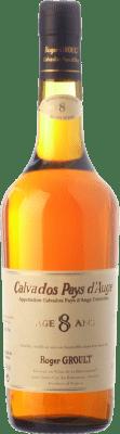 53,95 € Envío gratis | Calvados Roger Groult Vieux 8 Años I.G.P. Calvados Pays d'Auge Francia Botella 70 cl