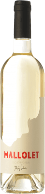 6,95 € Free Shipping | White wine Roig Parals Mallolet Blanc D.O. Empordà Catalonia Spain Grenache White, Muscat of Alexandria, Macabeo Bottle 75 cl