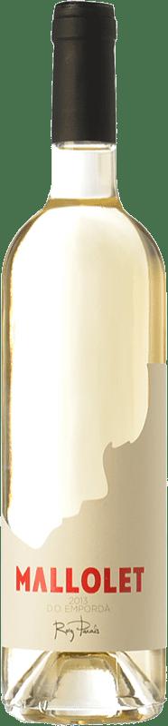 9,95 € Envoi gratuit | Vin blanc Roig Parals Mallolet Blanc D.O. Empordà Catalogne Espagne Grenache Blanc, Muscat d'Alexandrie, Macabeo Bouteille 75 cl