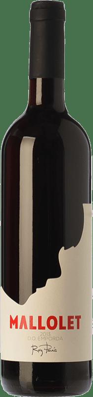 8,95 € Free Shipping | Red wine Roig Parals Mallolet Negre Joven D.O. Empordà Catalonia Spain Grenache, Carignan Bottle 75 cl