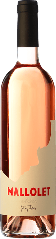 9,95 € Free Shipping | Rosé wine Roig Parals Mallolet Rosa Joven D.O. Empordà Catalonia Spain Grenache Bottle 75 cl