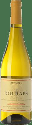 17,95 € Free Shipping | White wine Russolo Doi Raps I.G.T. Friuli-Venezia Giulia Friuli-Venezia Giulia Italy Sauvignon White, Pinot Grey, Pinot White Bottle 75 cl