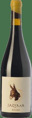 17,95 € Envío gratis | Vino tinto Samsara Jaqima Joven D.O. Sierras de Málaga Andalucía España Syrah, Garnacha Botella 75 cl