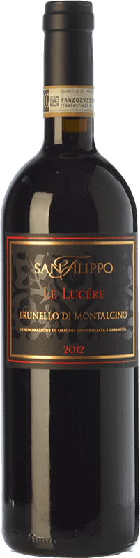 101,95 € Free Shipping   Red wine San Filippo Le Lucére D.O.C.G. Brunello di Montalcino Tuscany Italy Sangiovese Bottle 75 cl