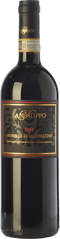 58,95 € Free Shipping   Red wine San Filippo D.O.C.G. Brunello di Montalcino Tuscany Italy Sangiovese Bottle 75 cl