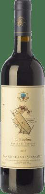 51,95 € Free Shipping | Red wine San Giusto a Rentennano La Ricolma I.G.T. Toscana Tuscany Italy Merlot Bottle 75 cl