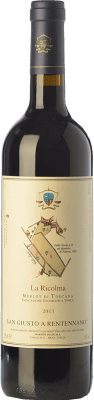 45,95 € Envoi gratuit | Vin rouge San Giusto a Rentennano La Ricolma I.G.T. Toscana Toscane Italie Merlot Bouteille 75 cl