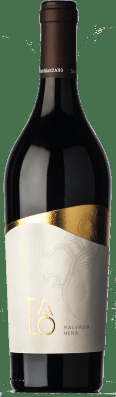 11,95 € Free Shipping | Red wine San Marzano Malvasia Nera Talò I.G.T. Salento Campania Italy Malvasia Black Bottle 75 cl
