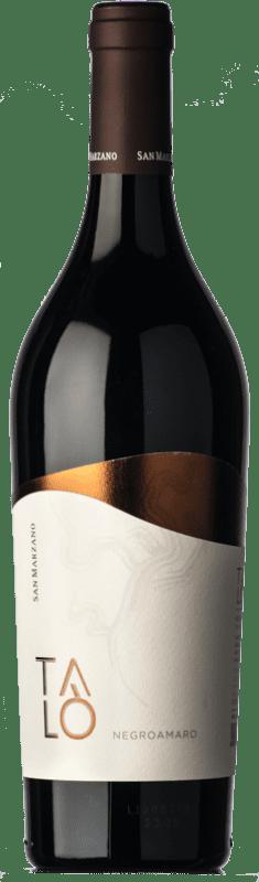 13,95 € Free Shipping | Red wine San Marzano Talò I.G.T. Puglia Puglia Italy Negroamaro Bottle 75 cl