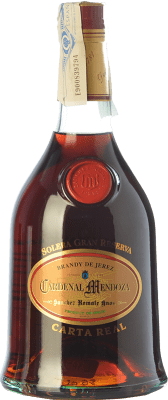 79,95 € Free Shipping | Brandy Sánchez Romate Cardenal Mendoza Carta Real D.O. Jerez-Xérès-Sherry Andalusia Spain Bottle 70 cl