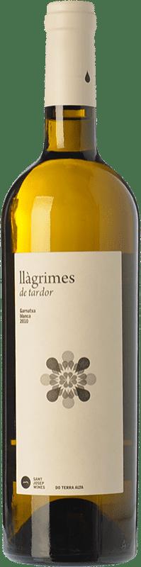 9,95 € Free Shipping | White wine Sant Josep Llàgrimes de Tardor Blanc Crianza D.O. Terra Alta Catalonia Spain Grenache White Bottle 75 cl
