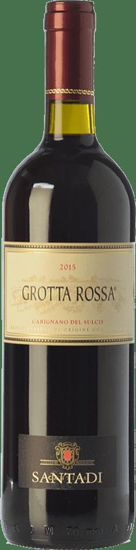 9,95 € Envoi gratuit | Vin rouge Santadi Carignano del Sulcis Grotta Rossa D.O.C. Carignano del Sulcis Sardaigne Italie Carignan Bouteille 75 cl