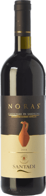 13,95 € Free Shipping | Red wine Santadi Noras D.O.C. Cannonau di Sardegna Sardegna Italy Cannonau Bottle 75 cl