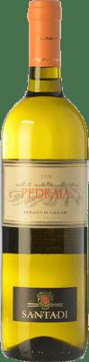 9,95 € Free Shipping | White wine Santadi Pedraia D.O.C. Nuragus di Cagliari Sardegna Italy Nuragus Bottle 75 cl