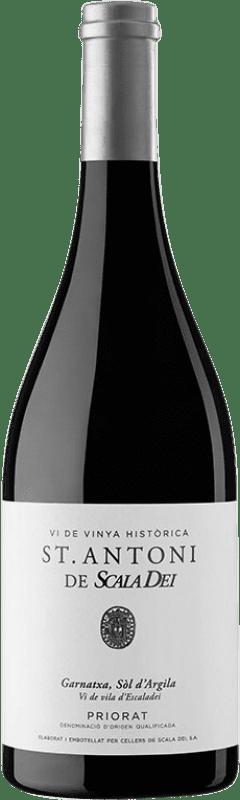 66,95 € Free Shipping | Red wine Scala Dei Sant Antoni Crianza D.O.Ca. Priorat Catalonia Spain Grenache Bottle 75 cl