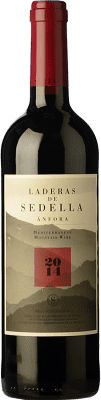 17,95 € Free Shipping | Red wine Sedella Laderas Crianza D.O. Sierras de Málaga Andalusia Spain Grenache, Romé, Muscatel Bottle 75 cl