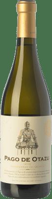 32,95 € Envío gratis | Vino blanco Señorío de Otazu Crianza D.O.P. Vino de Pago de Otazu Navarra España Chardonnay Botella 75 cl