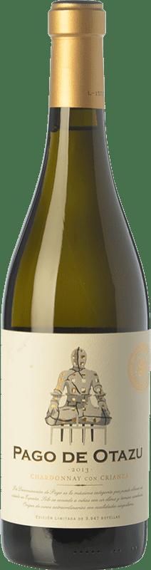 32,95 € Free Shipping | White wine Señorío de Otazu Crianza D.O.P. Vino de Pago de Otazu Navarre Spain Chardonnay Bottle 75 cl
